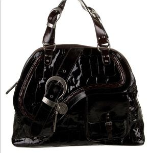 Dior XL Embossed Gaucho Tote! Very big bag!